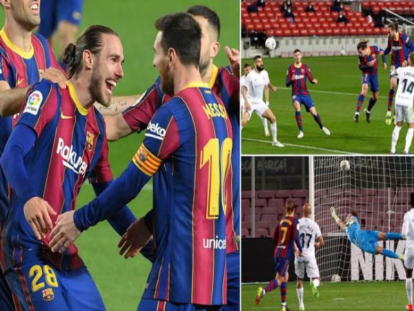 Bóng đá QT sáng 16/3: Messi lập cú đúp, Griezmann 'thông nòng'