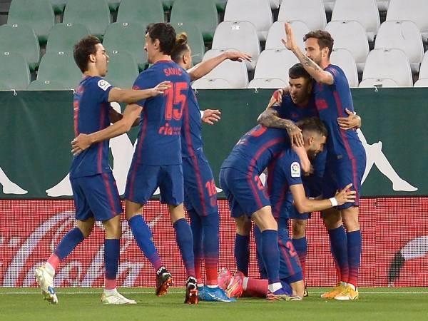 Tin bóng đá QT 12/3: Atletico trở lại ngôi đầu La Liga