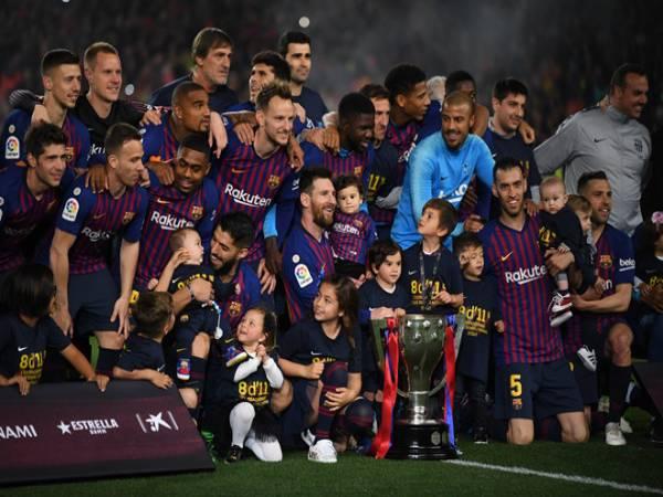 Top những đội bóng vô địch La Liga nhiều nhất hiện nay