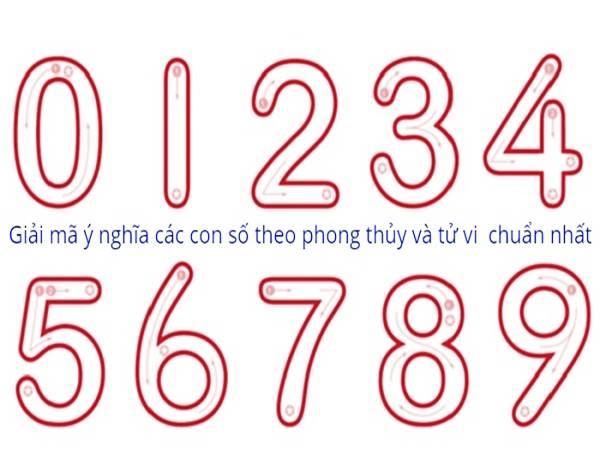 Ý nghĩa các con số